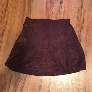 Maroon Skirt Express size 4